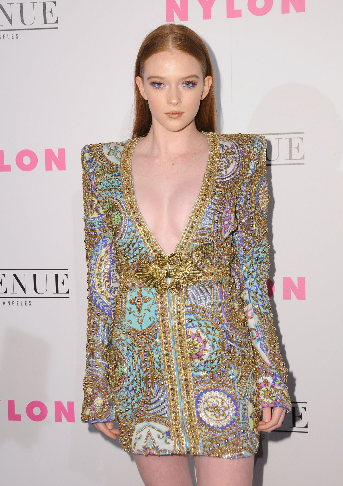 LARSEN THOMPSON at Nylon Young Hollywood May Issue Party in Los Angeles 05/02/2017