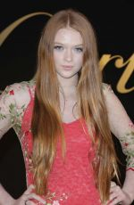LARSEN THOMPSON at Panthere De Cartier Watch Launch in Los Angeles 05/05/2017