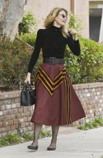 LAURA DERN Out for Lunch in Brentwood 05/10/2017