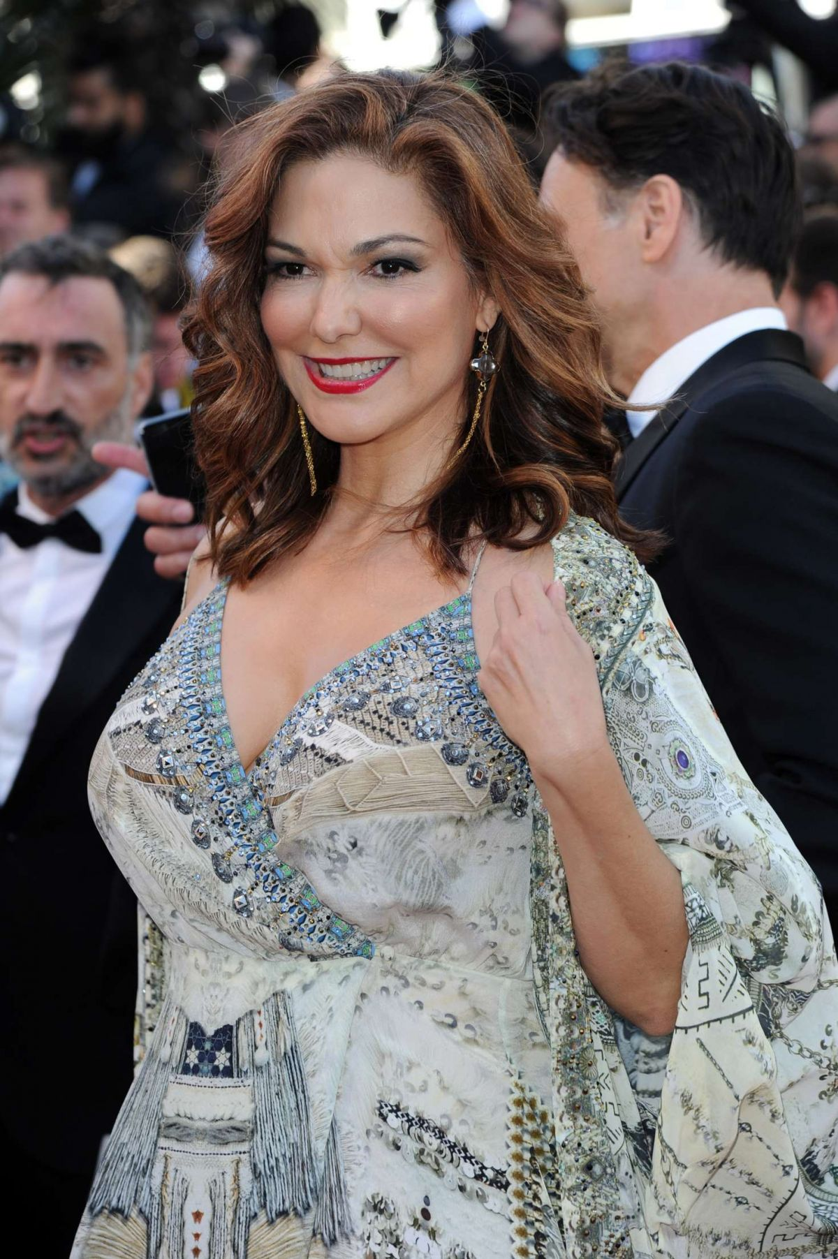 LAURA HARRING at Okja Premiere at 70th Annual Cannes Film Festival 05/19/2017