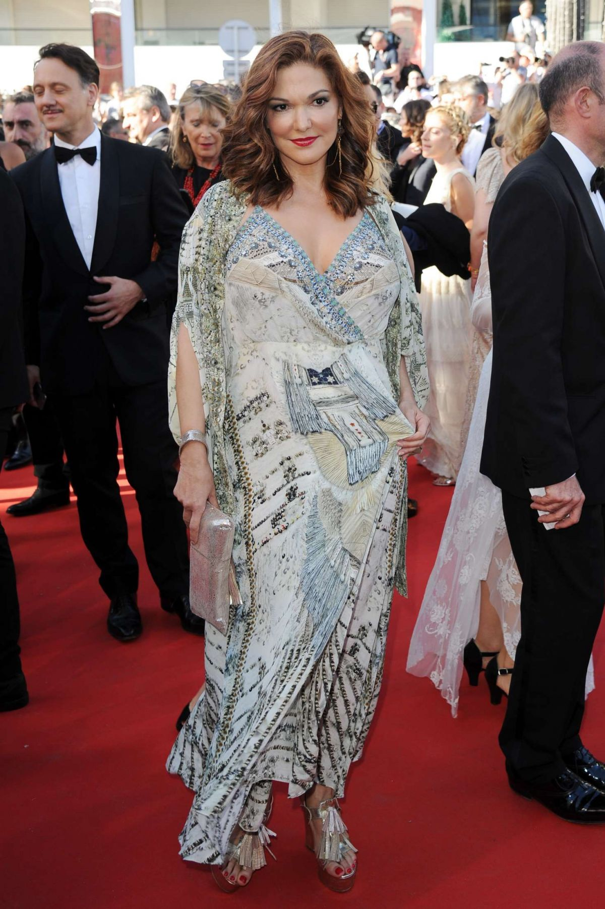 LAURA HARRING at Okja Premiere at 70th Annual Cannes Film