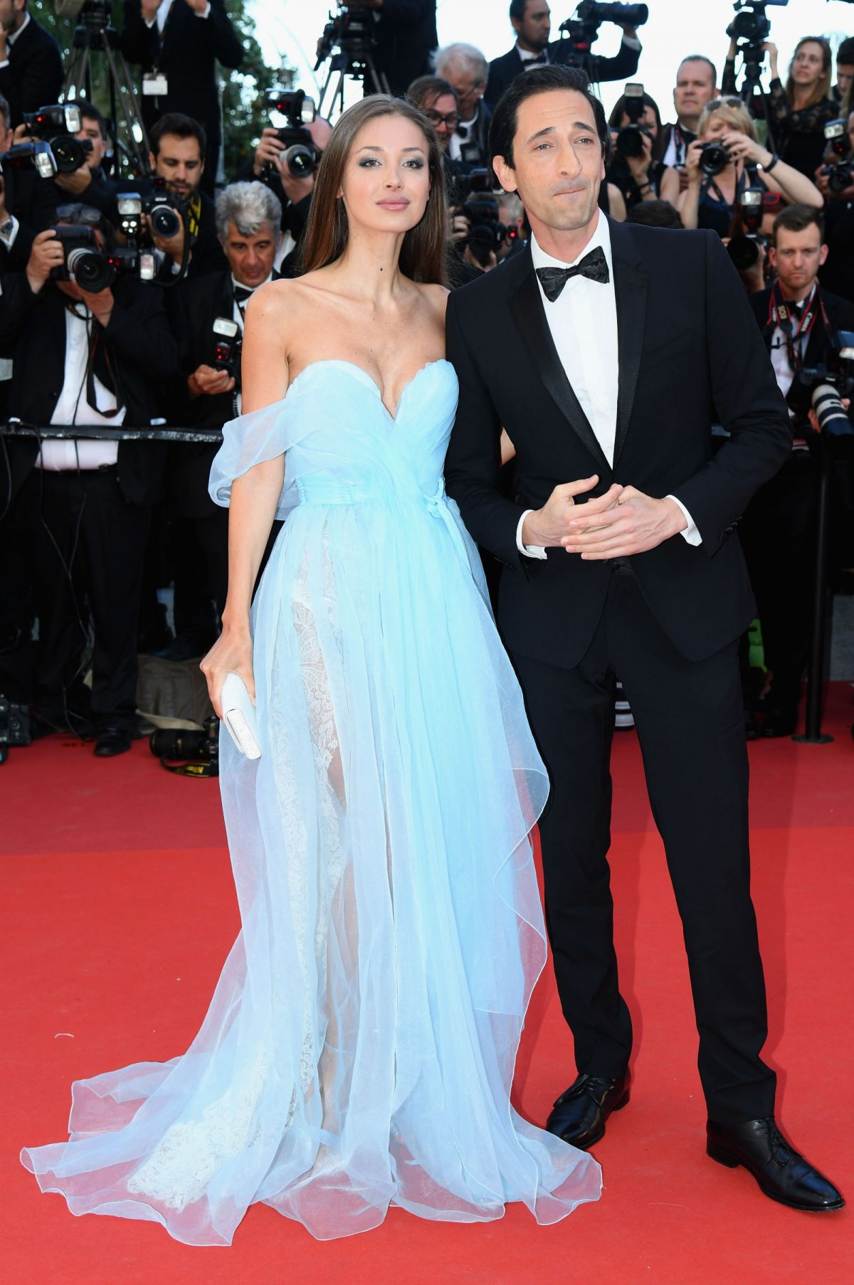 LAURA LIETO and Adrien Brody at Ismael