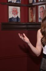 LAURA OSNES at Her Portrait Unveiling at Sardi