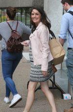 LAURA TOBIN Leaves ITV Studios in London 05/30/2017