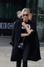 LAURA WHITMORE Arrives at BBC Radio in Manchester 05/22/2017