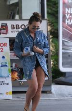 LAUREN GOODGER Out and About in Epping 05/25/2017