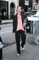 LAURIE METCALF Arrives at Today Show in New York 05/30/2017