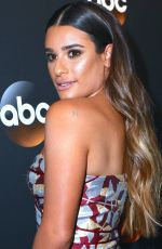 LEA MICHELE at ABC Upfronts Presentation in New York 05/16/2017