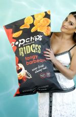 LEA MICHELE at Popchips 10th Birthday at W Hotel in Hollywood 05/25/2017