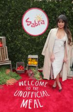 LEA MICHELE at Unofficial Meal Event Celebrating #nationalhummusday in New York 05/12/2017