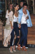 LEA MICHELE Leaves Soho House in Malibu 05/29/2017