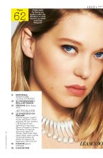 LEA SEYDOUX in Grazia Magazine, Italy May 2017