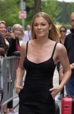 LEANN RIMES Arrives at The View in New York 05/02/2017