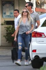 LEANN RIMES Out and About in Los Angeles 05/04/2017