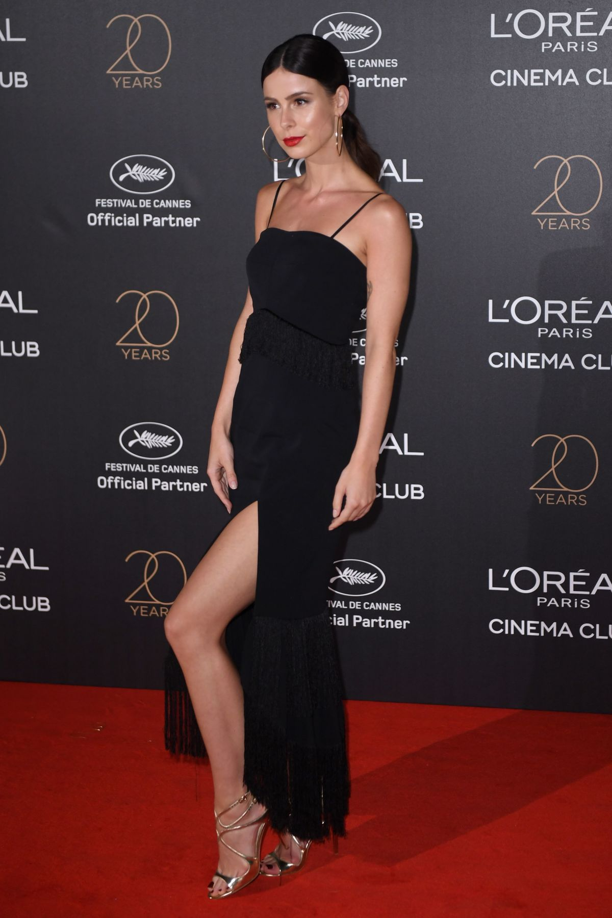 LENA MEYER-LANDRUT at L'Oreal 20th Anniversary Party at Cannes Film Festival 05/24/2017