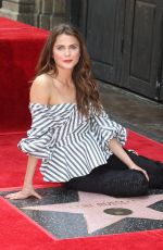 KERI RUSSELL at Her Hollywood Walk of Fame Ceremony in Hollywood 05/30/2017