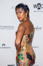 LETOYA LUCKETT at Wearable Art Gala at California African American Museum in Los Angeles 04/29/2017