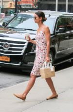 LILY ALDRIDGE Out for Coffee in New York 05/01/2017