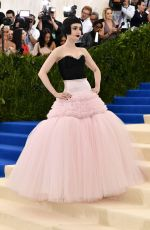 LILY COLLINS at 2017 MET Gala in New York 05/01/2017