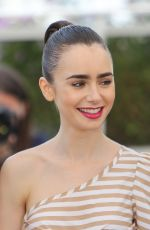 LILY COLLINS at Okja Photocall at 2017 Cannes Film Festival 05/19/2017