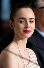 LILY COLLINS at Okja Press Conference at 70th Annual Cannes Film Festival 05/19/2017