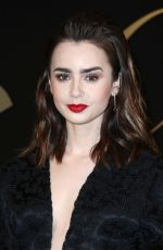 LILY COLLINS at Panthere De Cartier Watch Launch in Los Angeles 05/05/2017