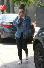 LILY COLLINS Out and About in West Hollywood 05/29/2017