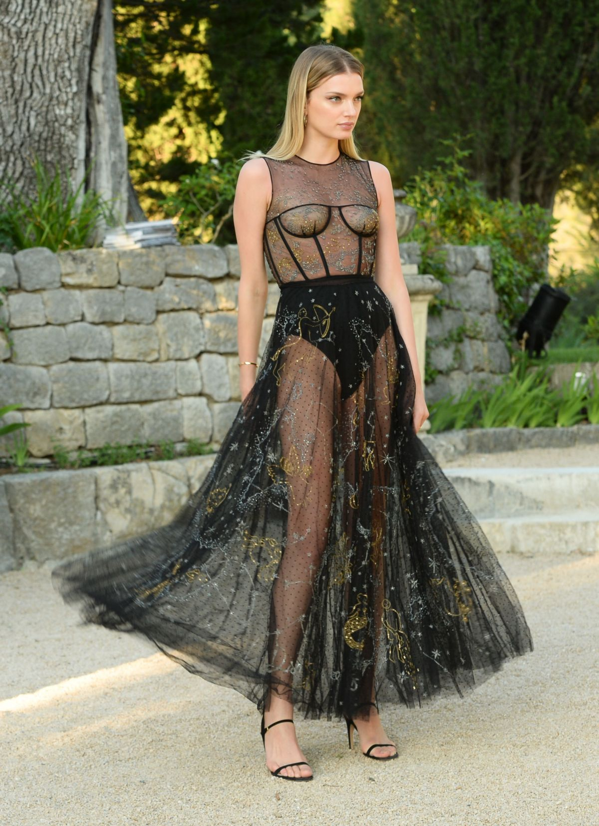 LILY DONALDSON at Miss Dior: Dinner at Chateau De La Colle Noire in Montauroux 05/15/2017