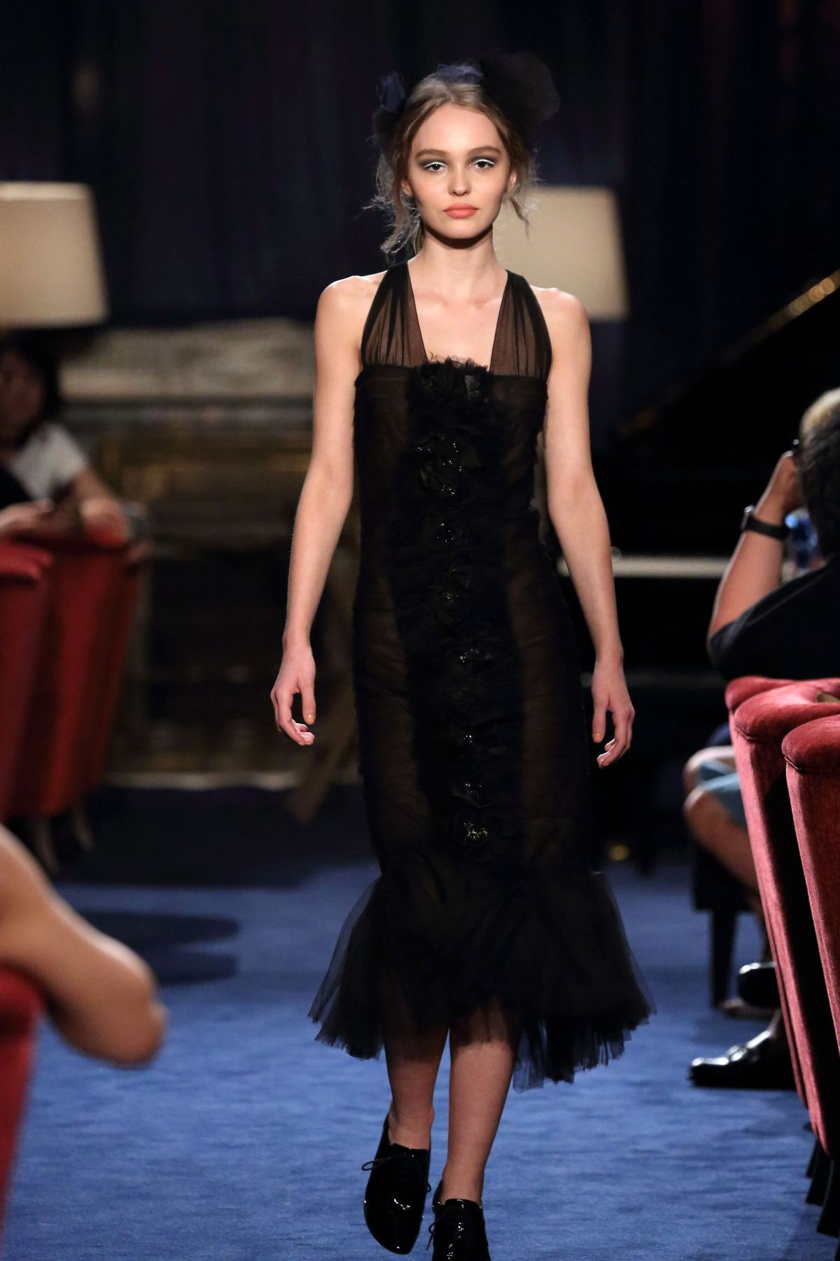 Lily rose depp at chanel metiers d 39 art 2016 17 collection fashion show in - Metiers d art lorraine ...