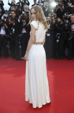 LILY-ROSE DEPP at Ismael's Ghosts Screening and Opening Gala at 70th Annual Cannes Film Festival 05/17/2017