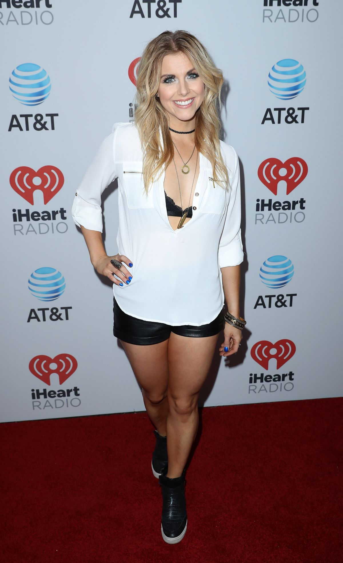 LINDSAY ELL at iHeartCountry Music Festival in Austin 05/06/2017