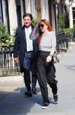 LINDSAY LOHAN Out and About in London 05/05/2017