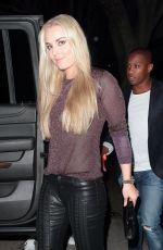 LINDSEY VONN at Madeo Restaurant in Hollywood 05/17/2017