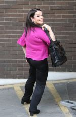 LISA RILEY Arrives at ITV Studios in London 05/24/2017
