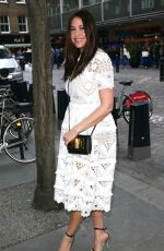 LISA SNOWDON Out and About in London 05/03/2017