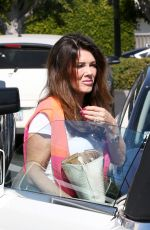 LISA VANDERPUMP Out and About in Beverly Hills 05/27/2017