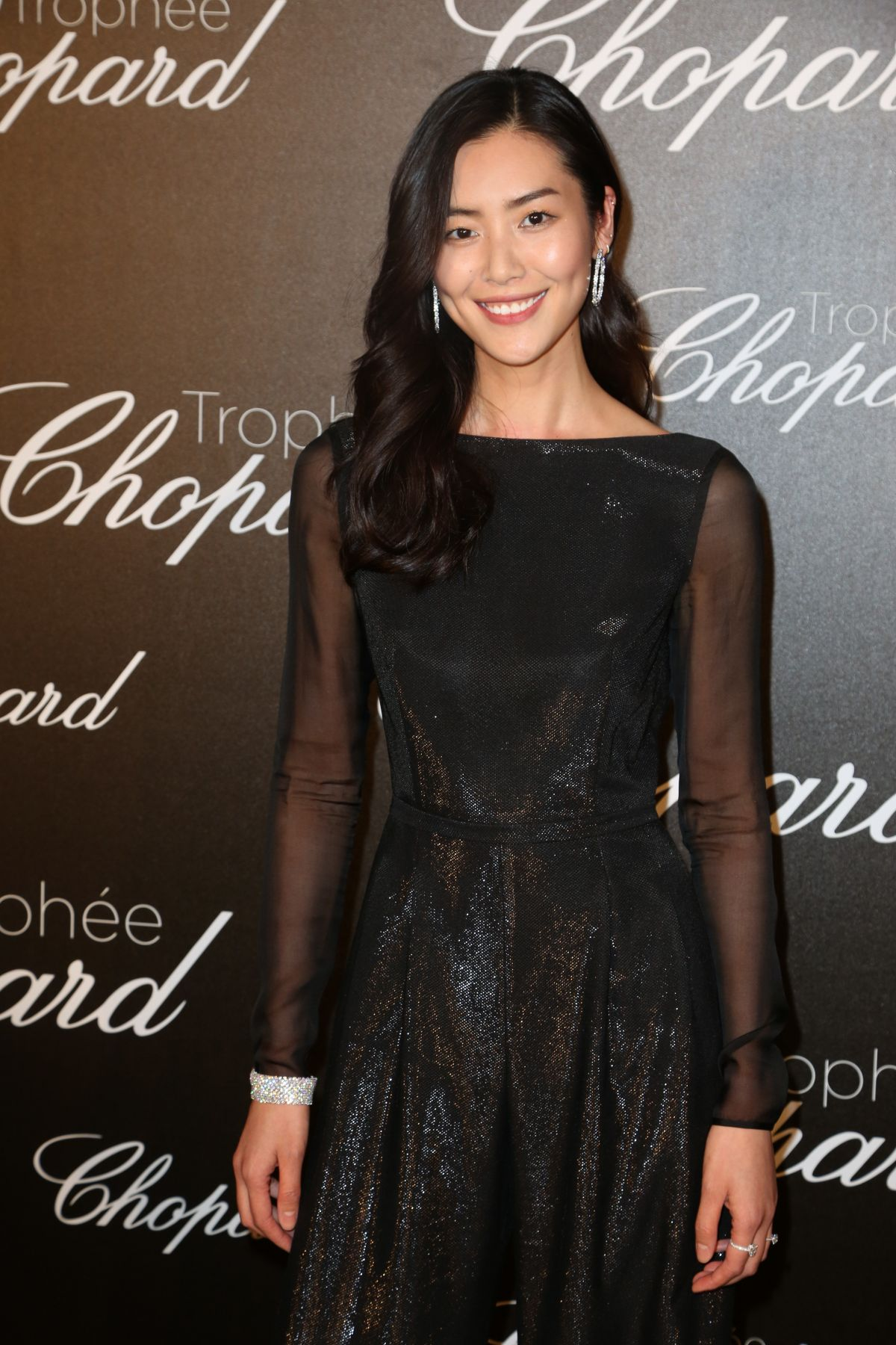 LIU WEN at Chopard Trophy Event in Cannes 05/22/2017