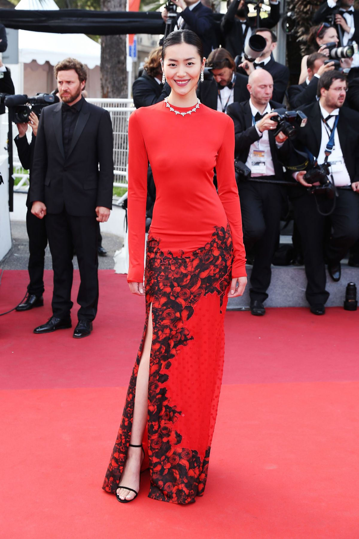 LIU WEN at The Beguiled Premiere at 70th Annual Cannes Film Festival 05/24/2017