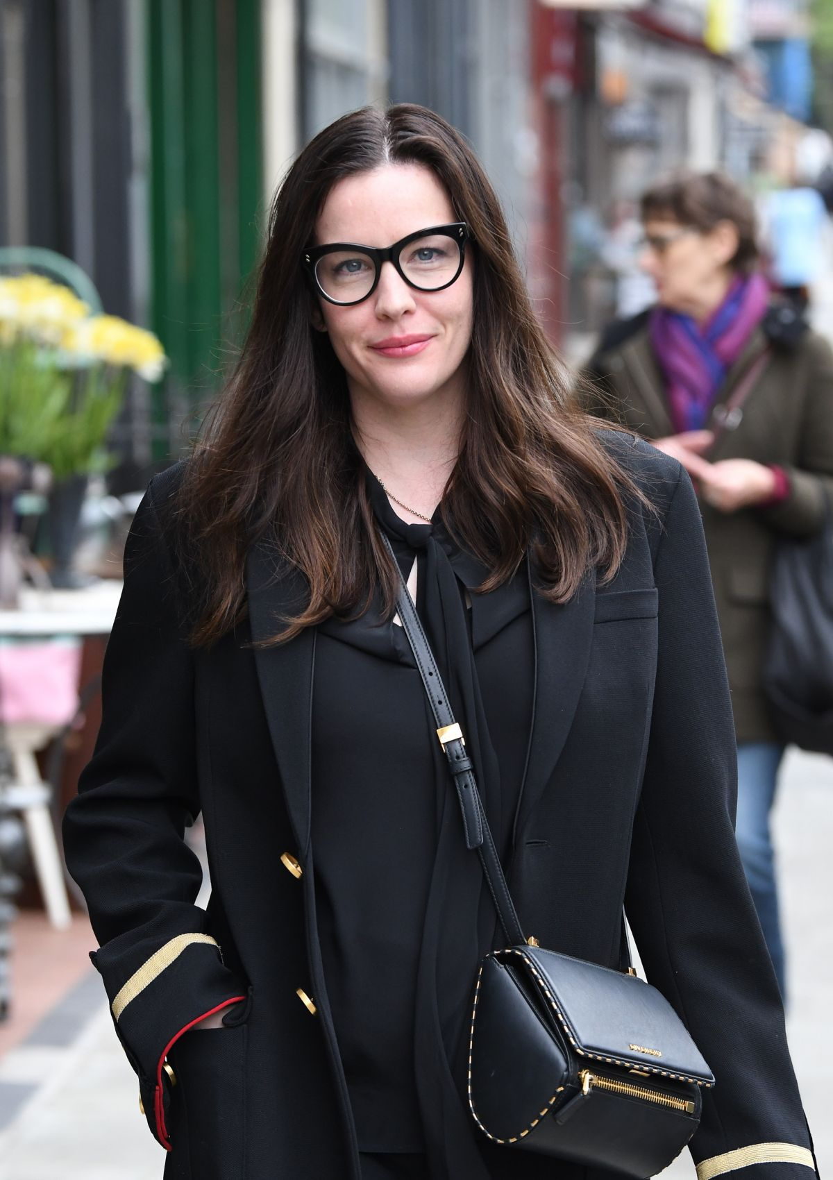 LIV TYLER Out and About in London 05/04/2017 - HawtCelebs Liv Tyler