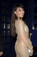 LIZZIE CUNDY Celebrates Her 47th Birthday in London 02/05/2017