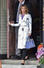 LORI LOUGHLIN on the Set of Garage Sale Mystery in Vancouver 05/08/2017