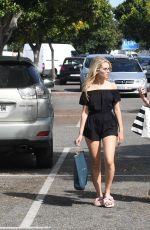 LOTTIE MOSS and EMILY BLACKWELL Out Shopping in Marbella 05/26/2017