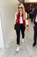 LOTTIE MOSS Arrives at Airport in Nice 05/20/2017