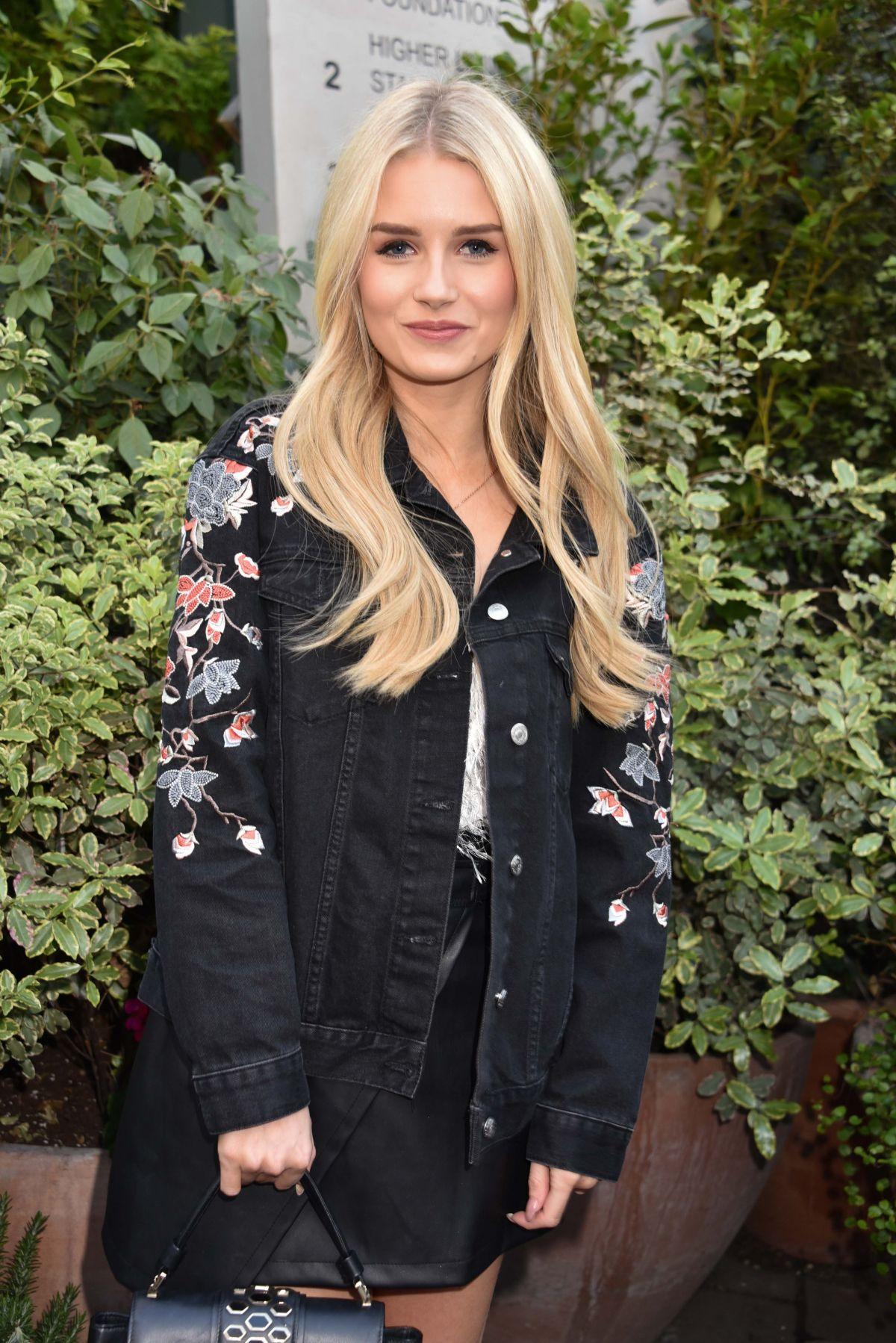 LOTTIE MOSS at Ivy Chelsea Garden Summer Party in London 05/09/2017