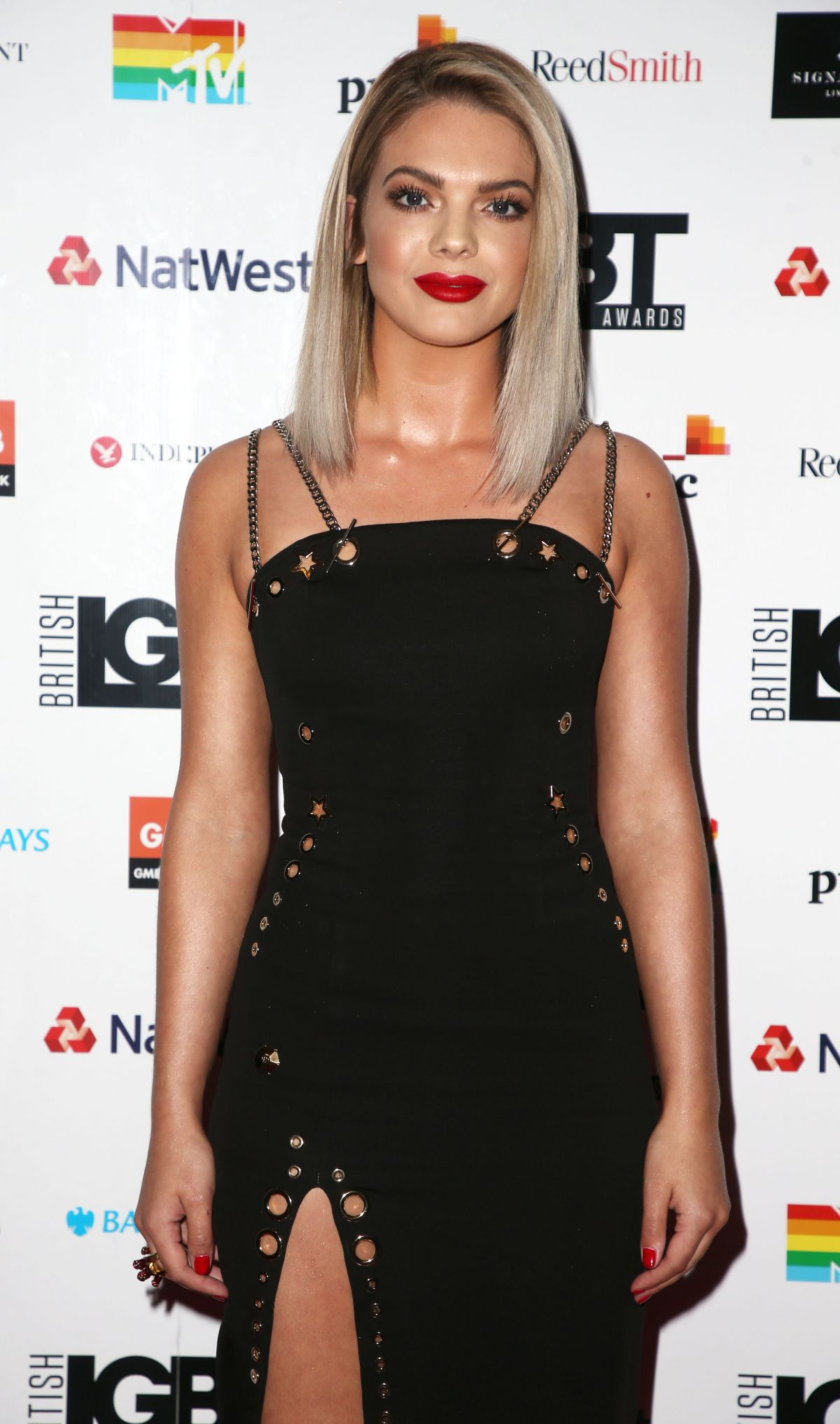 LOUISA JOHNSON at British LGBT Awards in London 05/12/2017