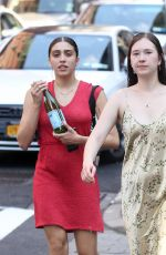 LOURDES LEON Out and About in New York 05/18/2017