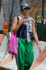 LOURDES LEONE Out Shopping in New York 05/16/2017