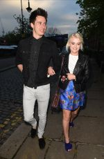LUCY FALLON at Bar Ca Bar Relaunch Party in Manchester 05/12/2017