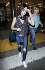 LUCY HALE at Los Angeles International Airport 05/19/2017