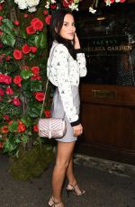 LUCY WATSON at Ivy Chelsea Garden Summer Party in London 05/09/2017